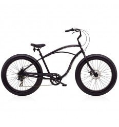 "Beach Cruiser ELECTRA Lux 7D Fat bike 26"" noir"