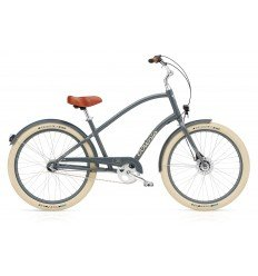 Vélo urbain ELECTRA Townie Balloon 7i Slate Blue EQ Lights