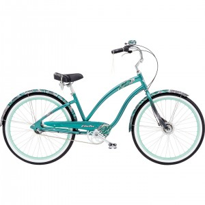 Velo Beach cruiser ELECTRA Femme White Water 3i 26 pouces