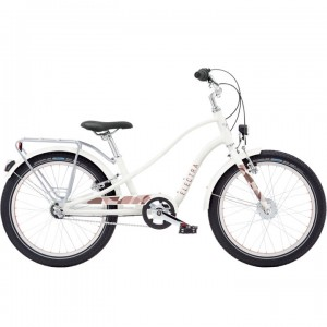 "Vélo enfant ELECTRA Sprocket Sugar 20"" Fille Blanc 2019 3i EQ"