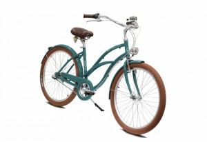 Vélo Beach Cruiser ARCADE Key West Femme Vert canard