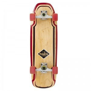 Surfskate MINDLESS rouge