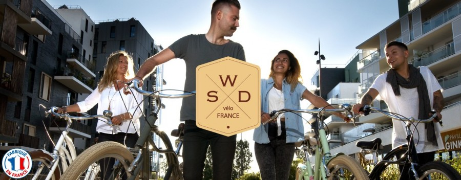 Westside vous propose sa marque WSD de beach cruiser made in France
